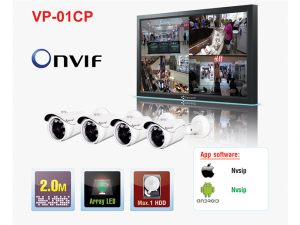 POWERLINE CCTV KIT)